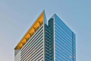 """Hess Tower in downtown Houston was awarded the International TOBY (The Outstanding Building of the Year) Award """"Corporate Facility"""" category at the 2017 Building Owners and Managers Association (BOMA) International Conference & Expo in Nashville, Tenn."""