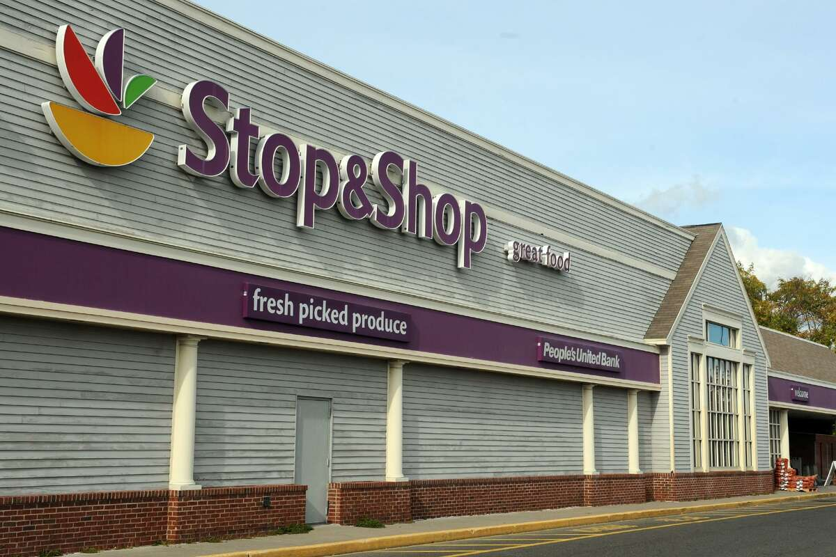 Dozens of Bridgeport Rescue Mission volunteers and staff will be stationed at local Stop & Shop supermarkets on Friday and Saturday from 10 a.m. to 4 p.m. to collect donations of nonperishable food items at the organization's annual Stuff-A-Truck event. Participating stores include the one pictured, 1160 Kings Highway Cutoff in Fairfield.
