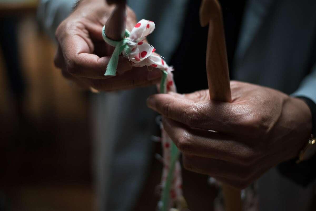 Ramekon O'Arwisters crochets. From