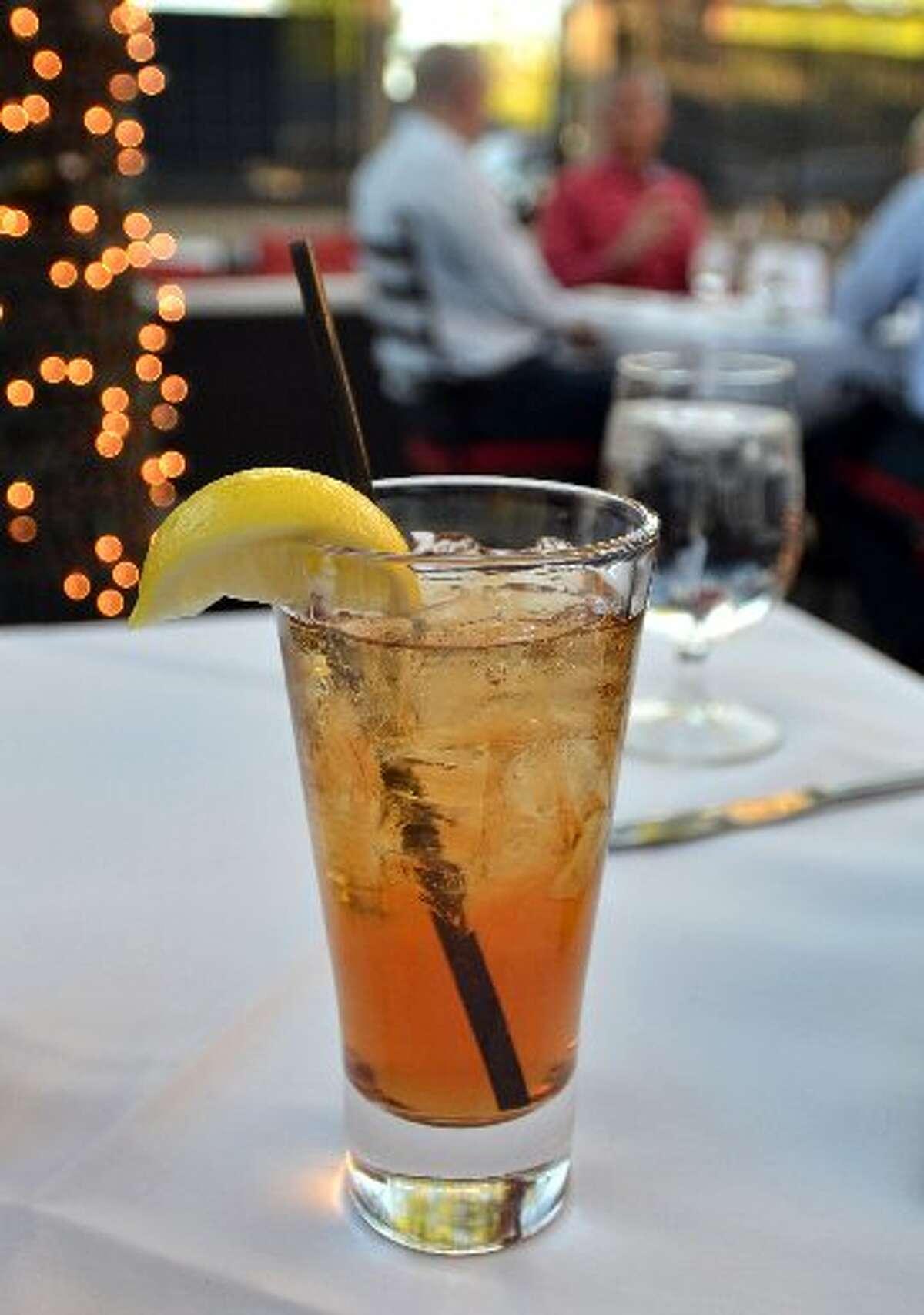 The tasty, refreshing Sweet Eddy Sweet Tea Vodka at the Cabana at the Grill. Beth Rankin/cat5
