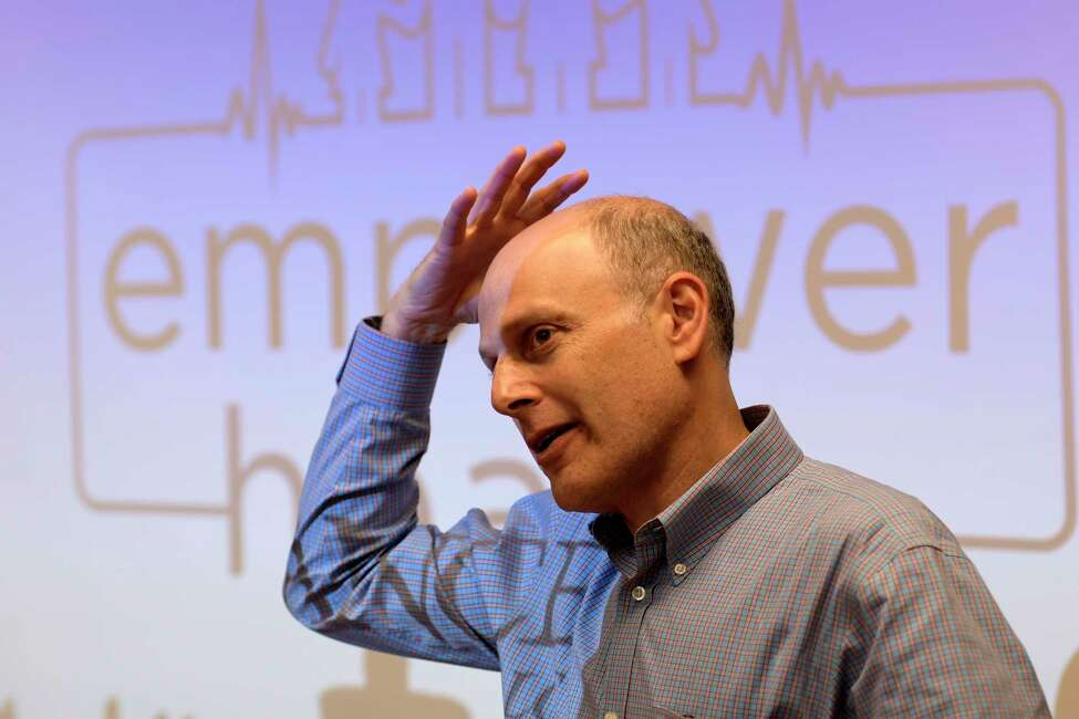 Dr. Jacob Reider, Alliance for Better Health CEO talks about the great success of the Empower Health program as had Tuesday July 11, 2017 at the City Mission Training Center in Schenectady, N.Y. (Skip Dickstein/Times Union)