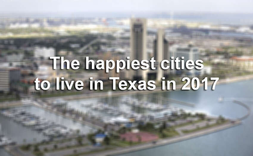 Keep scrolling to see where to live in Texas to lead a happy life.