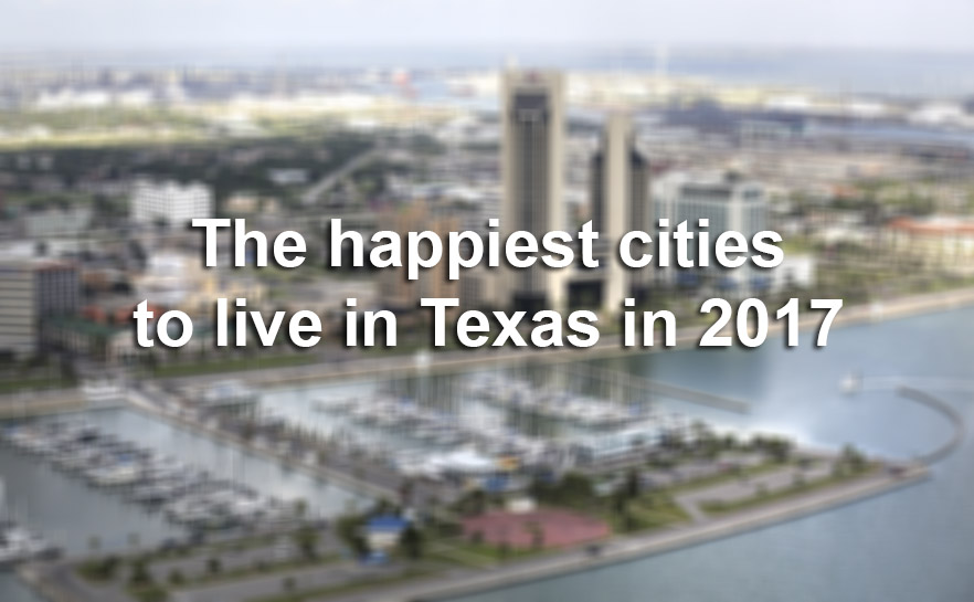 These are the happiest texas cities to live in 2017 study for Happiest places to live