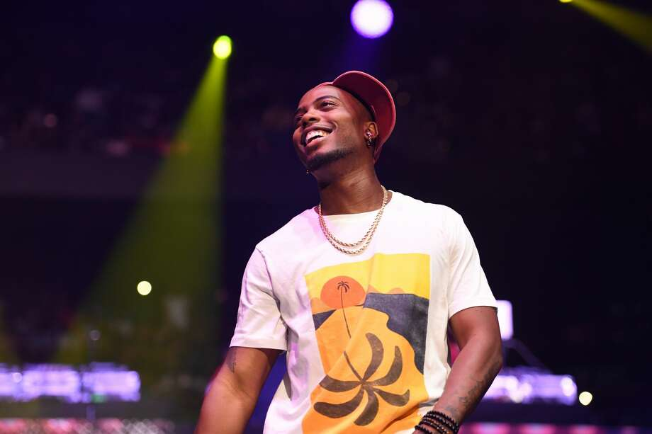 Rapper B.o.B. performs onstage at Hot 107.9 Birthday Bash ATL: Pop Up Edition at Philips Arena on June 17, 2017 in Atlanta, Georgia. Photo: Paras Griffin/WireImage