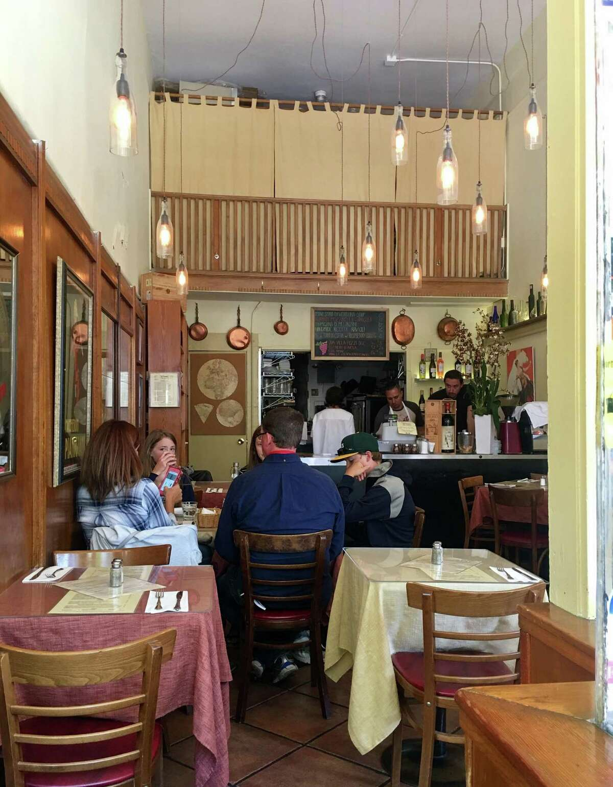 L'Osteria del Forno has served North Beach for 26 years.