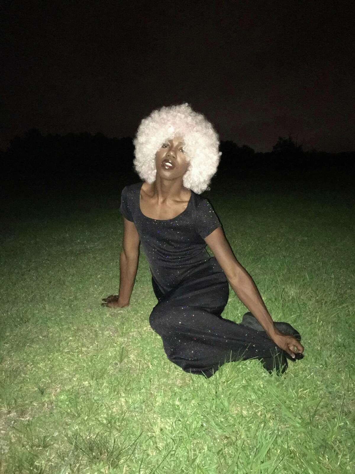 Houston performer Stoo Gogo is part of theBlingSt. collaborative.