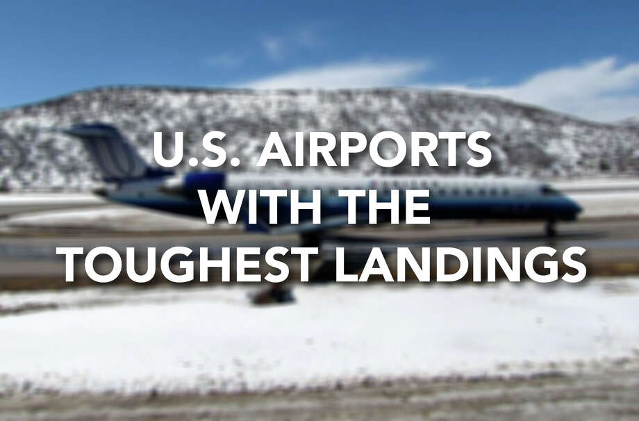 Click through to see some of the hardest airport landings in the United States, according to a report by Honeywell Aerospace.