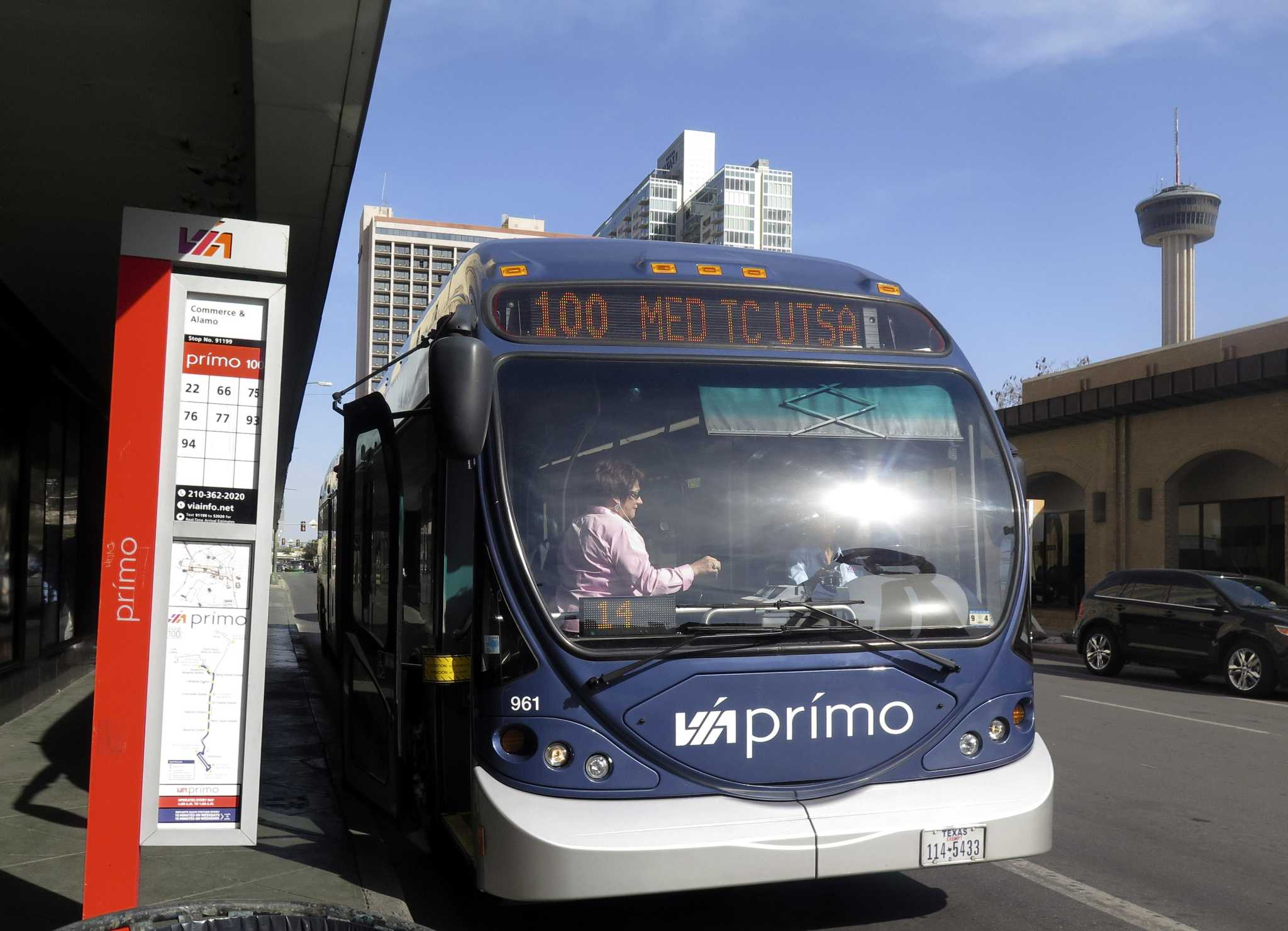 san antonio's bus service slated to get faster after $4.3 million in
