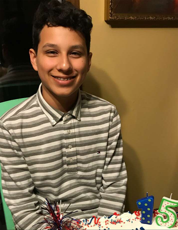 Isaiah Gonzalez is shown on his 15th birthday. His father believes he was drawn into a horrific online game and accidentally killed himself. Photo: Photo Courtesy Of The Gonzalez Family