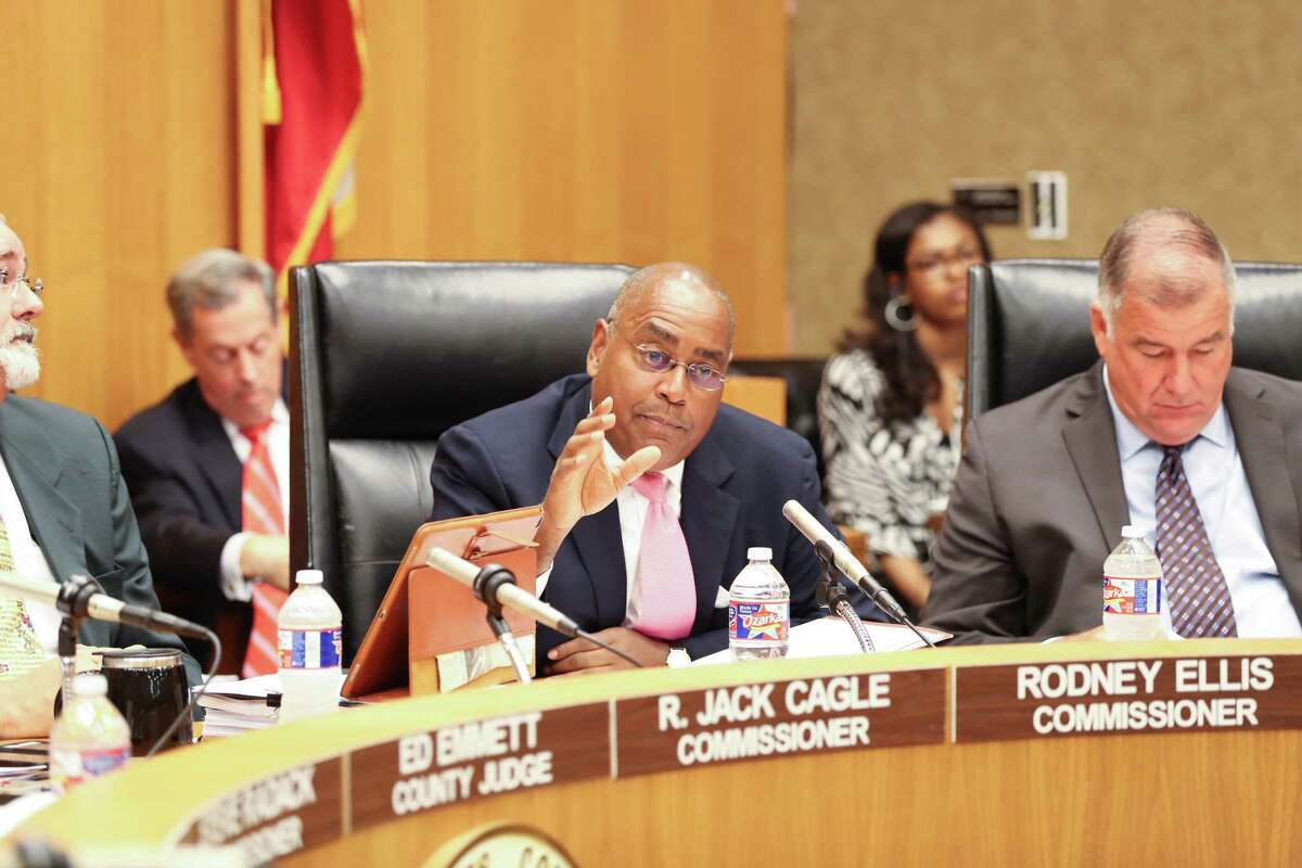 Commissoner Rodney Ellis was the only member of Commissioners Court to favor joining the lawsuit, but his motion died without a vote.