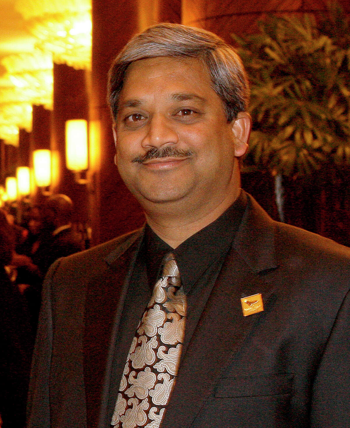 Karun Sreerama was appointed Houston Public Works Director in March. ( Melissa Phillip / Chronicle )