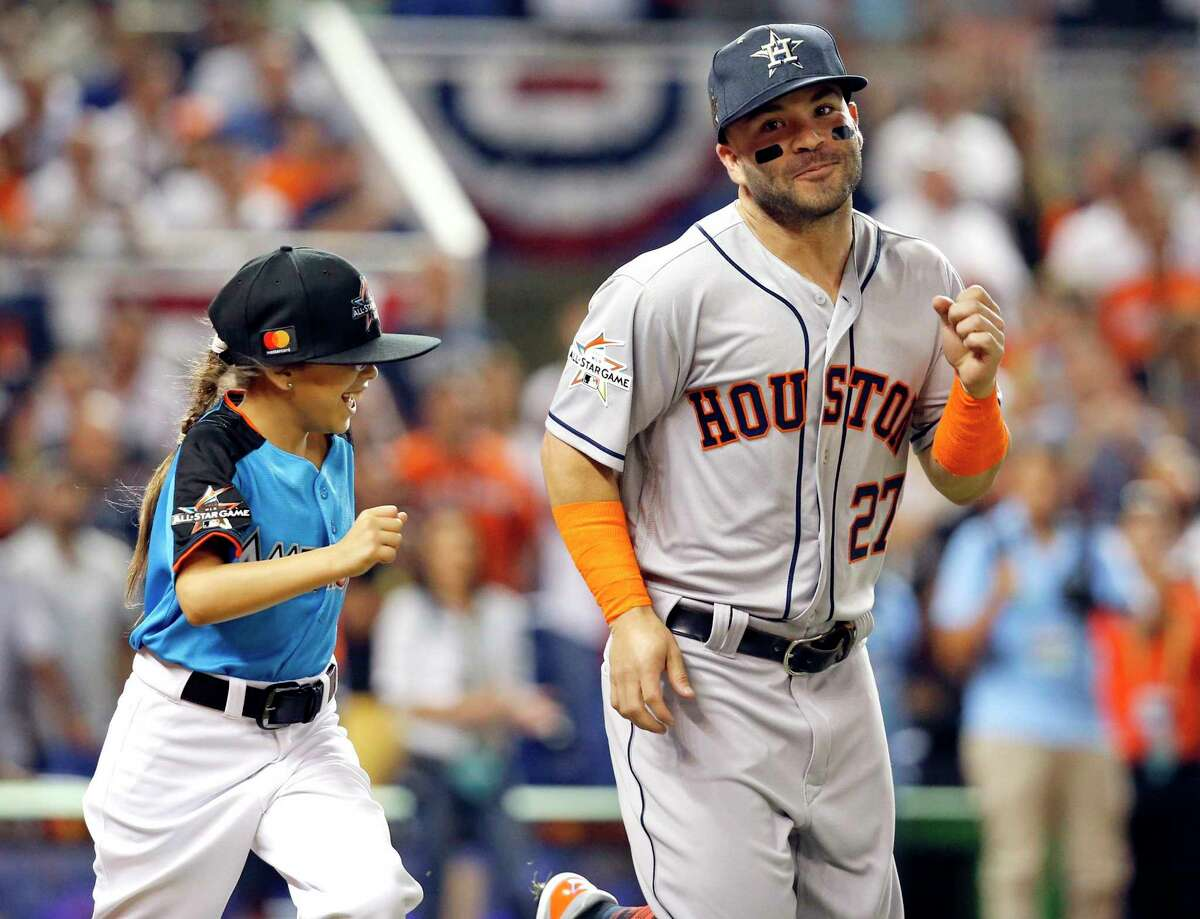 Jose Altuve 2012, 2014, 2015, 2016, 2017, 2018 The Astros second baseman made his sixth All-Star team in just his seventh full season in the big leagues. This will be his second straight year as an All-Star starter. Browse through the photos to see every Astros player who has made the All-Star team.