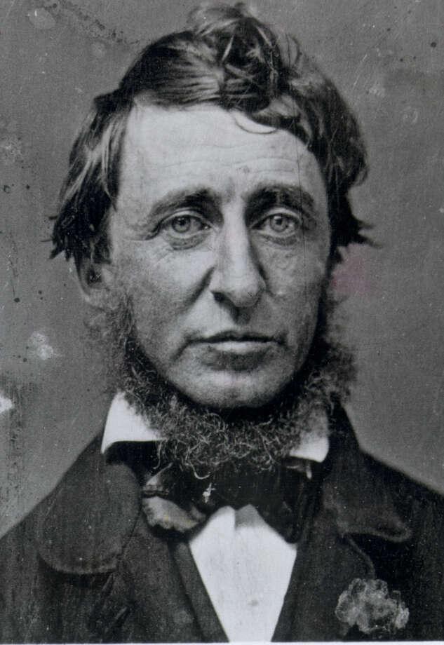 Henry David Thoreau Photo: FILE PHOTO / EXPRESS-NEWS FILE PHOTO