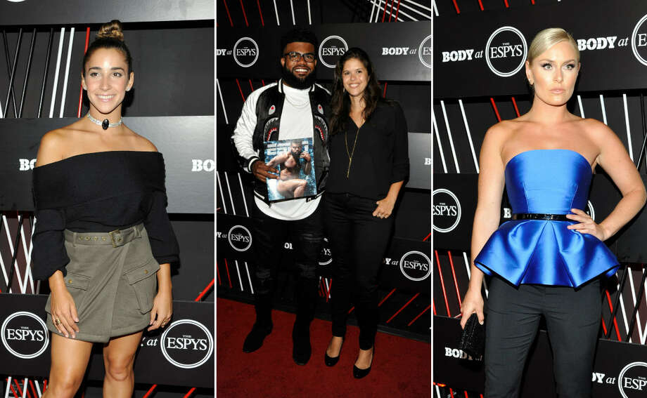 Celebrity athletes enjoy the Body by ESPYs pre-party on Tuesday, July 11 before the annual athletic awards banquet on Wednesday in Hollywood, California. Continue clicking to see the other celebrities that made it out to the party. Photo: Getty Images
