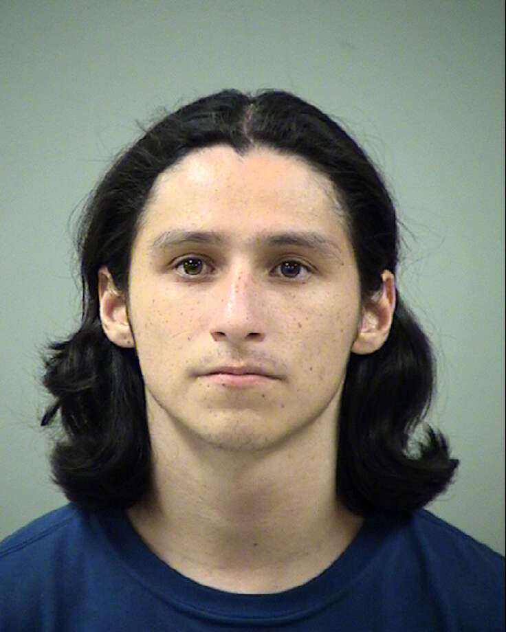 Richard Garcia, 22, faces a charge of assault causing bodily injury to a family member. Garcia remains in the Bexar County Jail on a $15,000 bond. Photo: Bexar County Jail