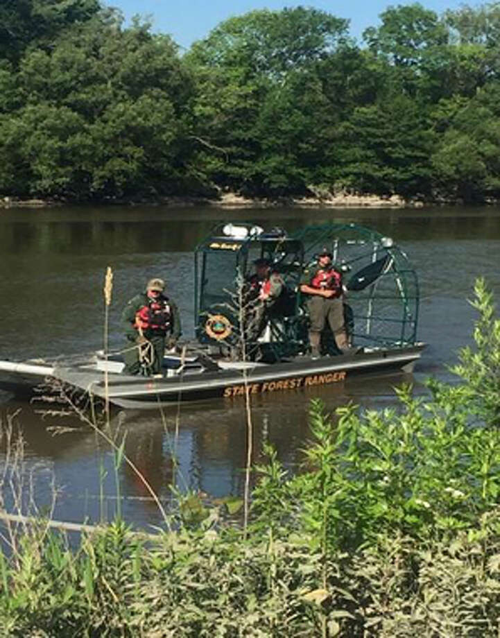 On July 3, 2017, troopers in Herkimer County asked Forest Rangers to help search for three men last seen paddle-boating on the Mohawk River in Little Falls without floatation devices. The three men's bodies were pulled from the river on July 4 and 5. Photo: State Department Of Environmental Conservation