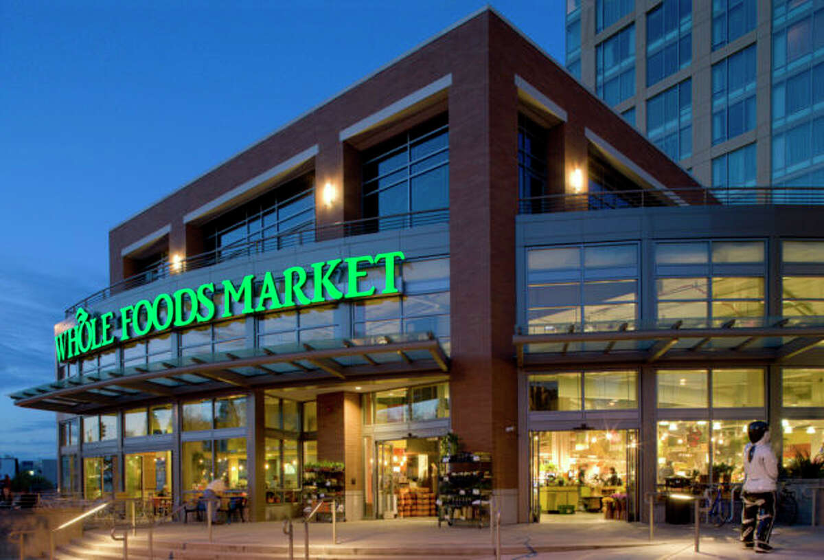 The Whole Foods Market on Westlake Avenue near Amazon's Seattle campus. Keep clicking to see how the cost of groceries in Seattle compares to other cities: