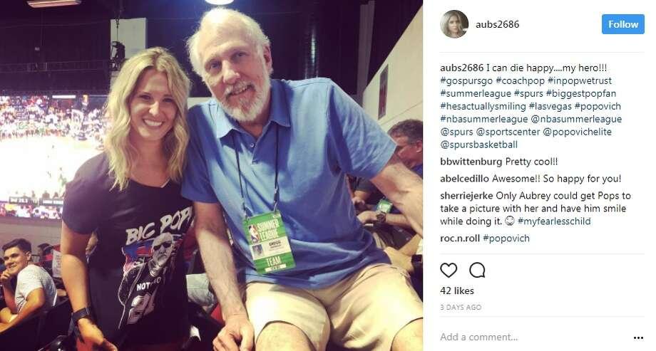 aubs2686: I can die happy....my hero!!! Photo: Instagram.com