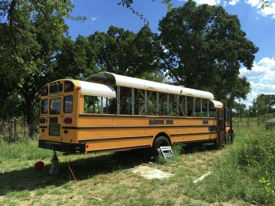 An Austin man named Michael Talley purchased a surplus school bus and over the course of five months turned it into a tiny home, complete with a bedroom, kitchen, and living room area all on a budget of just $15,000.(Photos: Michael Talley /@intalleyvision on Instagram) Photo: Michael Talley