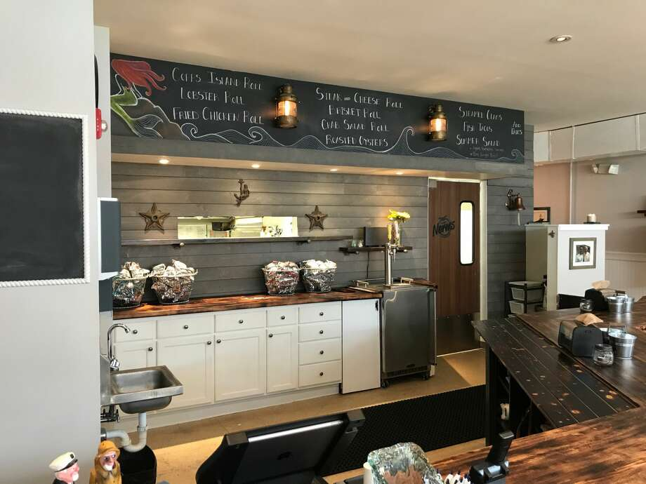 Knot Norms Catering Co. is opening a restaurant at 10 First Street in Norwalk, Connecticut. Menu items include fried oysters, fried chicken, brisket and lobster all served on New England style hot dog rolls. Photo: Contributed/ Jay LeBlanc