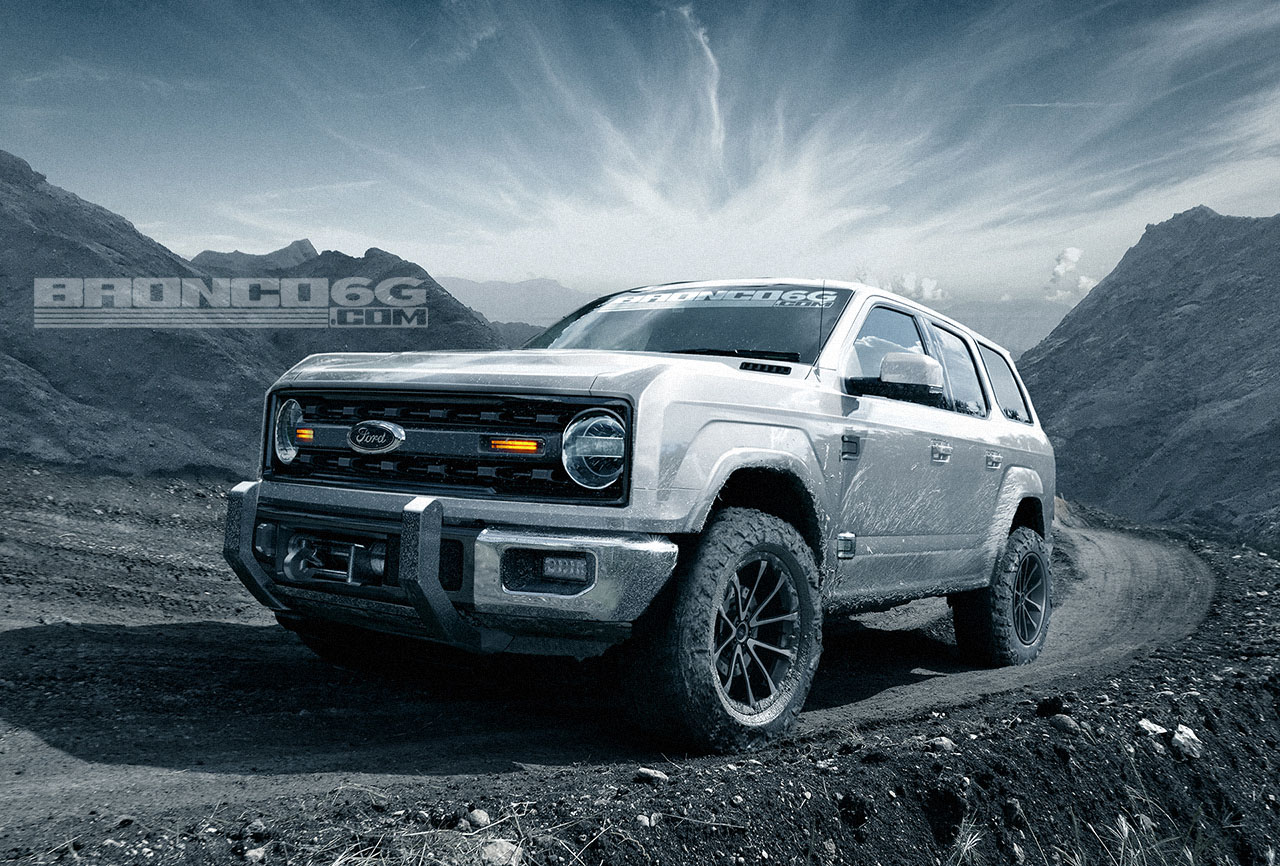 Check out these concept renderings of the 2020-2021 Ford Bronco