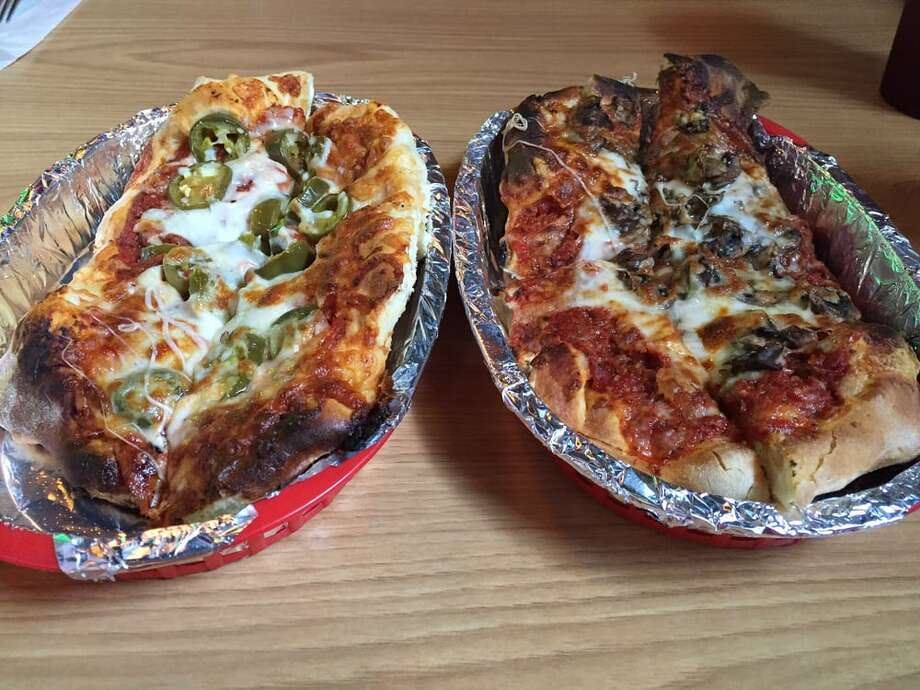 "Underground Pizza: 202 N. Seguin Ave., New Braunfels ""Wow! This pizza is awesome!""- Emily S.""It was awesome. Unfortunately I ordered it to go, but when I went in to pick it up the atmosphere looked perfect."" - James C. Photo: Gnet A. Via Yelp"