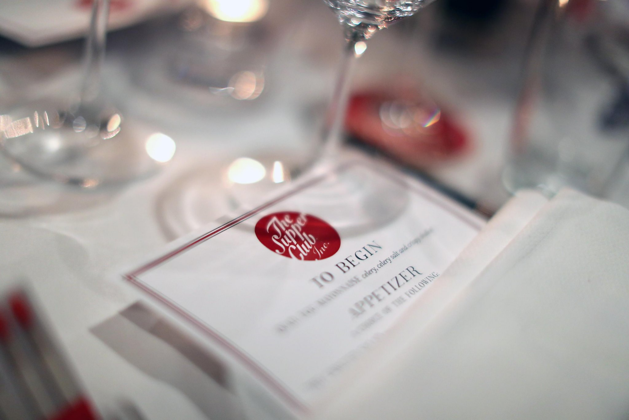 Supper Club wines and dines SF - SFChronicle com