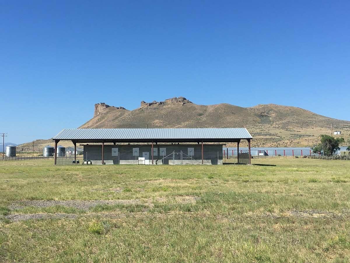 The jail at the Tule Lake Segregation Center