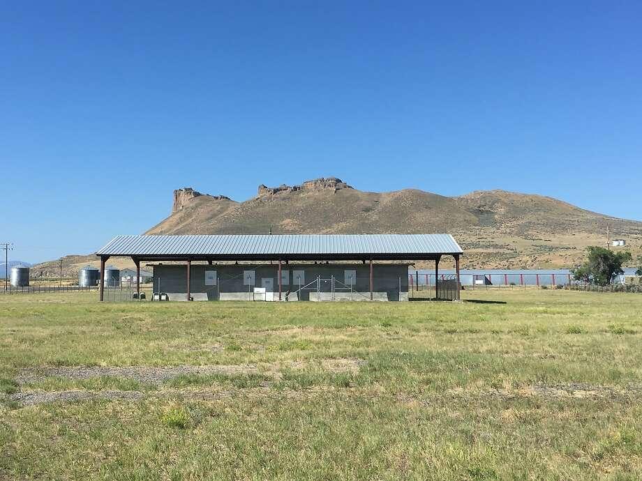 The jail at the Tule Lake Segregation Center Photo: Vanessa Hua