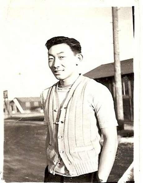 Hiroshi Kashiwagi as a young man at the Tule Segregation Center Photo: Courtesy Of Hiroshi Kashiwagi