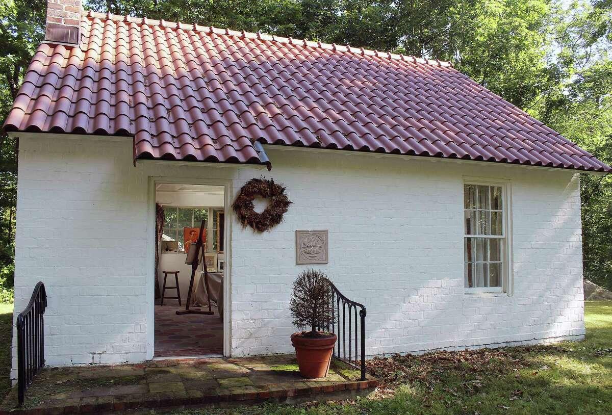 Carl Schmitt's studio in Wilton, Conn.