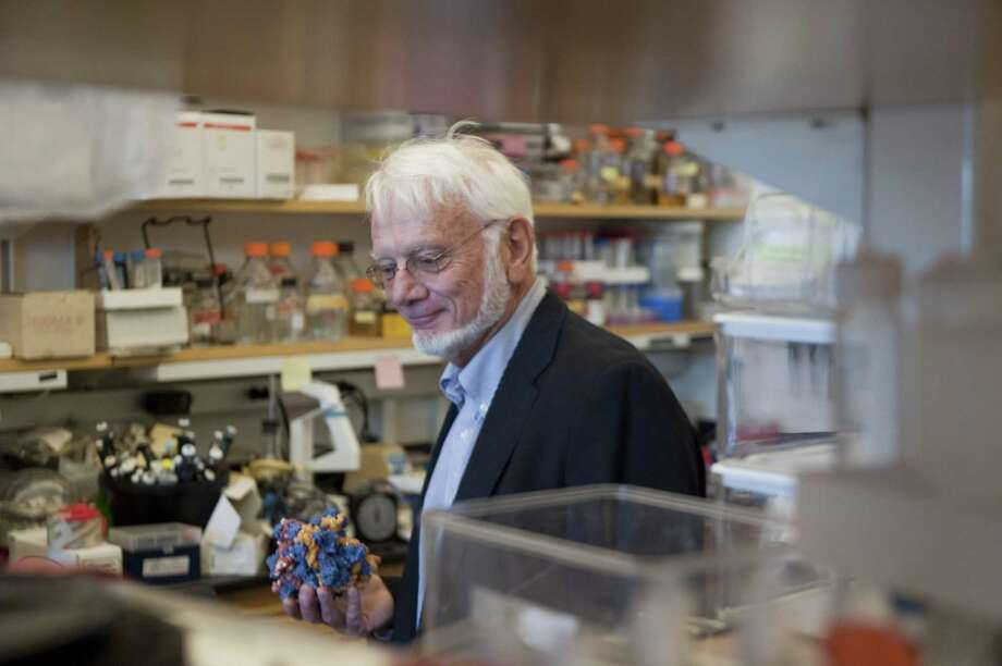 In the second quarter of 2017, New Haven-based Melinta Therapeutics secured funding commitments totaling $90 million to account for more than half of Connecticut's total venture funding for the period. Melinta is developing a treatment to combat MRSA infections in hospitals, with the company's scientific founding team including Yale University Professor Thomas Steitz, pictured, winner of the 2009 Nobel Prize in chemistry. Photo: Douglas Healey / AP / FR12849AP