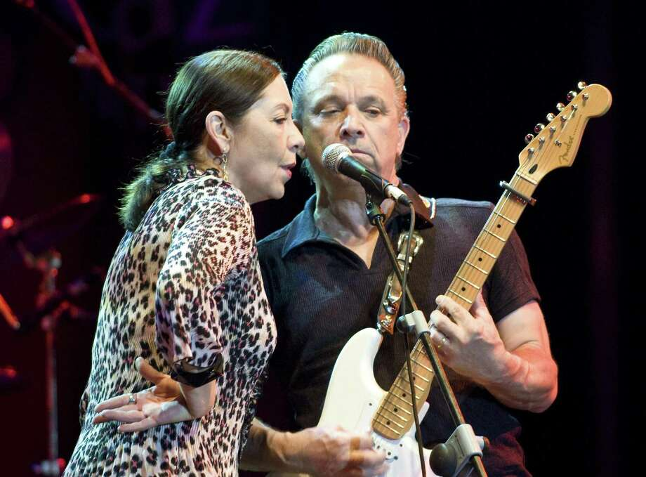 Lou Ann Barton and Jimmie Vaughan, seen during a 2010 concert in Spain, have been fans of each other and friends for more than 40 years. Photo: Redferns / 2010 Jordi Vidal