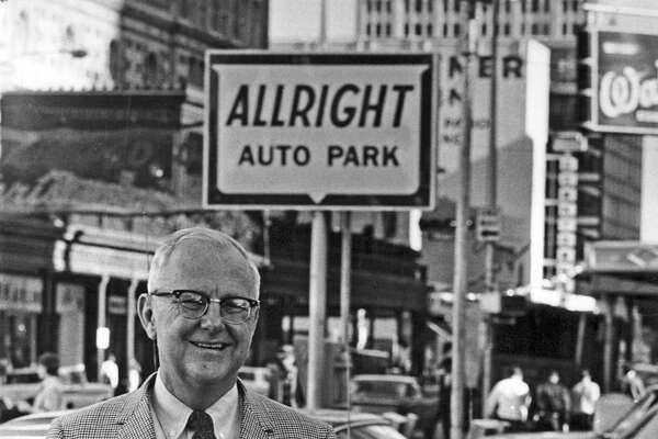 For Durell M. Carothers, those parked cars meant $20 million yearly revenue. In 1965, Allright was the largest car parking operation in the country.