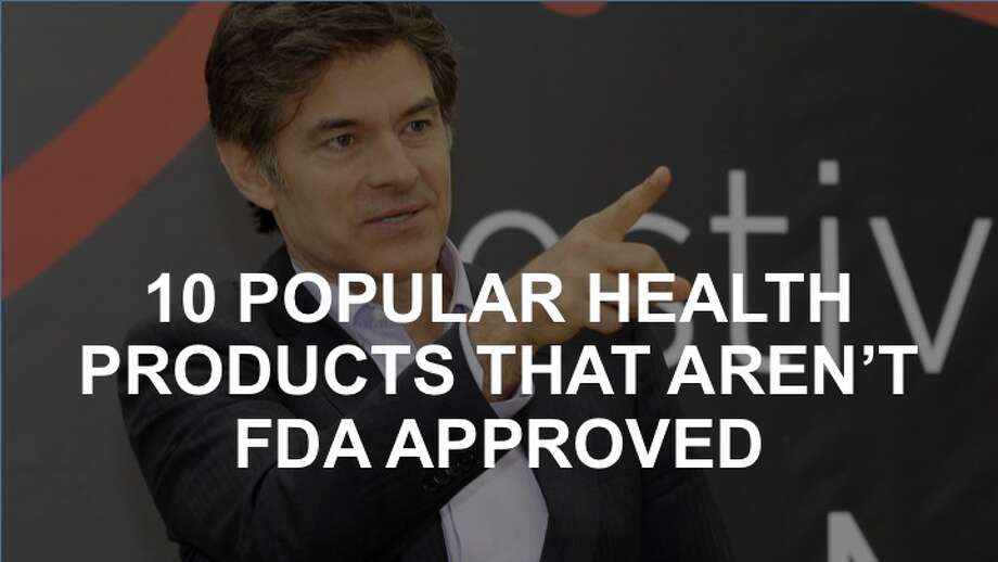 """Dr. Oz may be America's most famous doctor, but he doesn't always give advice that's FDA-approved. He's repeatedly come under fire for supporting """"miracle cures"""" that have less-than-scientific backing. When called in front of a Senate hearing on consumer protection in 2014, Dr. Oz was chastised for """"melding medical advice, news, and entertainment in a way that harms consumers.""""Famously, Dr. Oz has promoted green coffee extract as a weight loss marvel despite its dubious effectiveness. Learn about that and nine more popular non-FDA approved products in the following slides. Photo: Lionel Cironneau/Associated Press"""