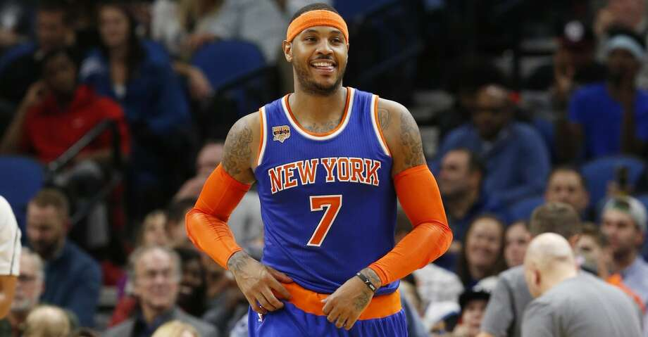 New York Knicks' Carmelo Anthony plays against the Minnesota Timberwolves during the second half of an NBA basketball game Wednesday, Nov. 30, 2016, in Minneapolis. (AP Photo/Jim Mone) Photo: Jim Mone/Associated Press