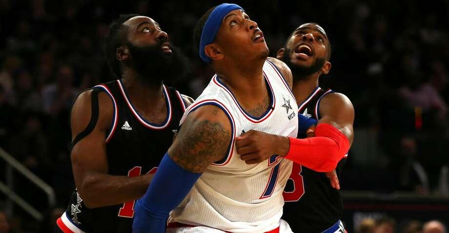 Knicks, Rockets talking Anthony trade