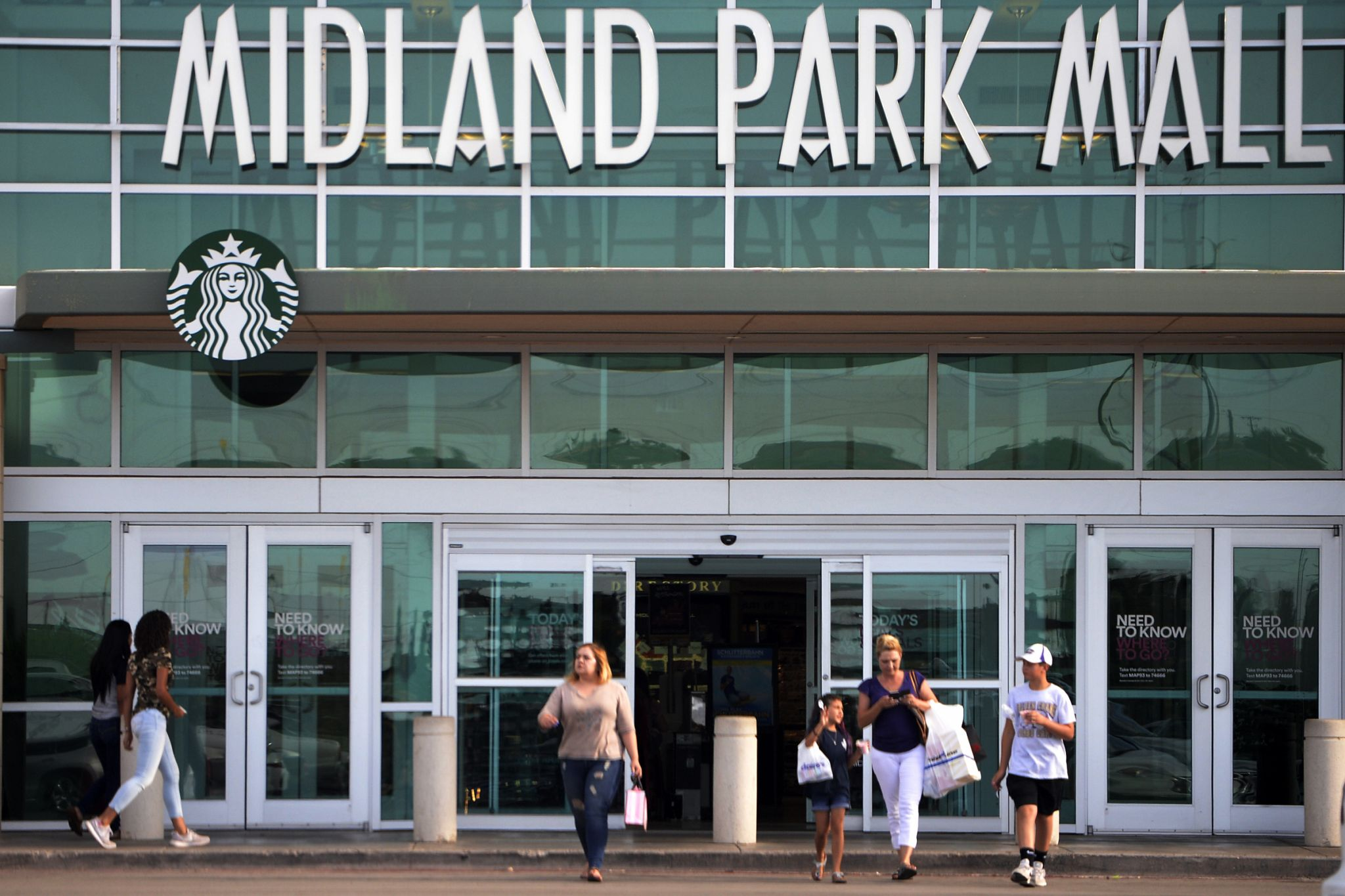 vans midland park mall