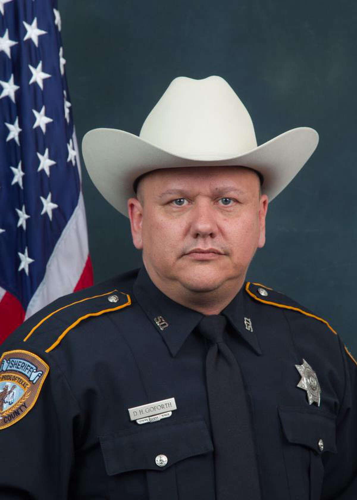Harris County deputy Darren H. Goforth, 47, a 10-year department veteran was shot and killed at Chevron station on Friday night at Telge and West roads. Officials say the deputy was shot from behind and died at the scene.