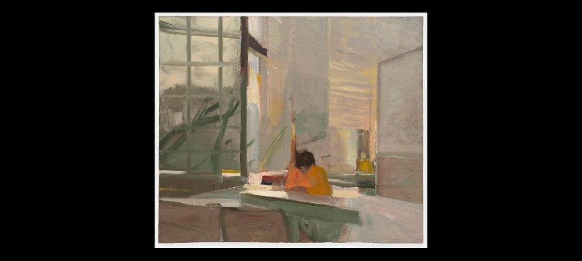 """Elmer Bischoff, """"Orange Sweater,"""" 1955"""