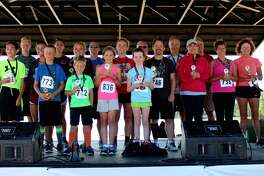 p.p1 {margin: 0.0px 0.0px 0.0px 0.0px; text-align: right; line-height: 10.8px; font: 10.0px Helvetica}  Pictured are first and second place finishers of the Harbor Beach Community Hospital 5K Run/Walk. (Courtesy Photo)