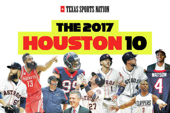 For the fifth consecutive year, the Chronicle picked its Houston 10 list of the city's most influential and important sports figures.