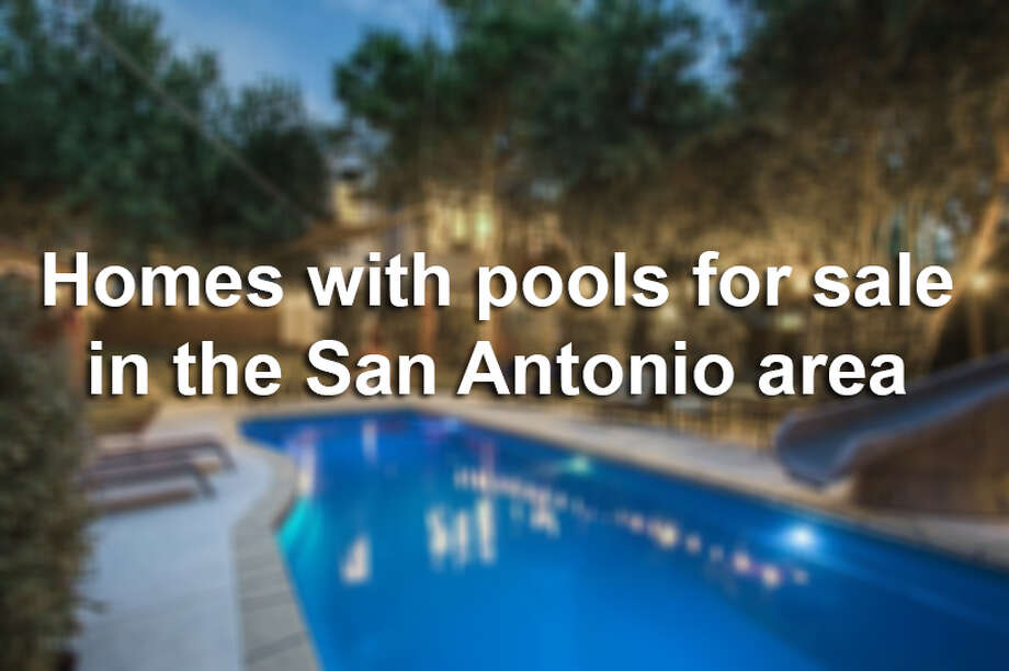Keep clicking to see homes in the San Antonio area on the market beginning in the $100,000s.