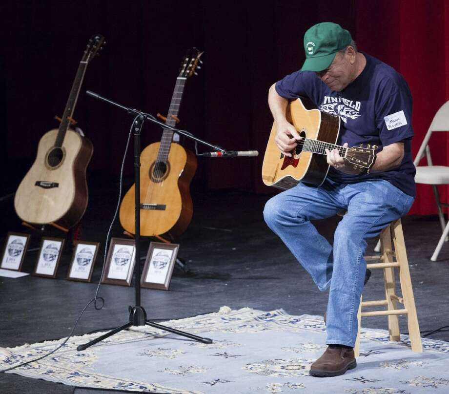 A participant in last year's Indiana State Fingerstyle Guitar Festival. Photo: For The Edge