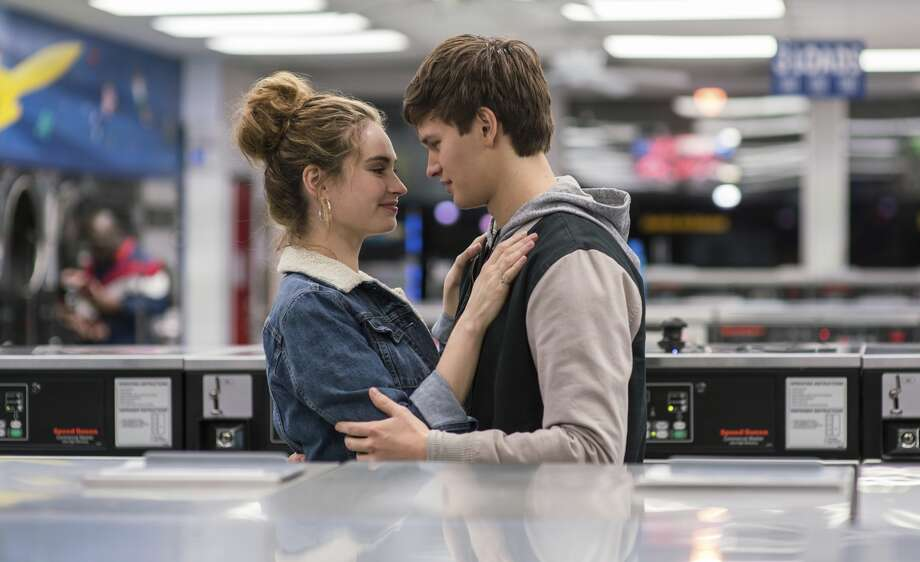 "This image released by Sony/TriStar shows Lily James, left, and Ansel Elgort in a scene from the film, ""Baby Driver."" Photo: Associated Press"