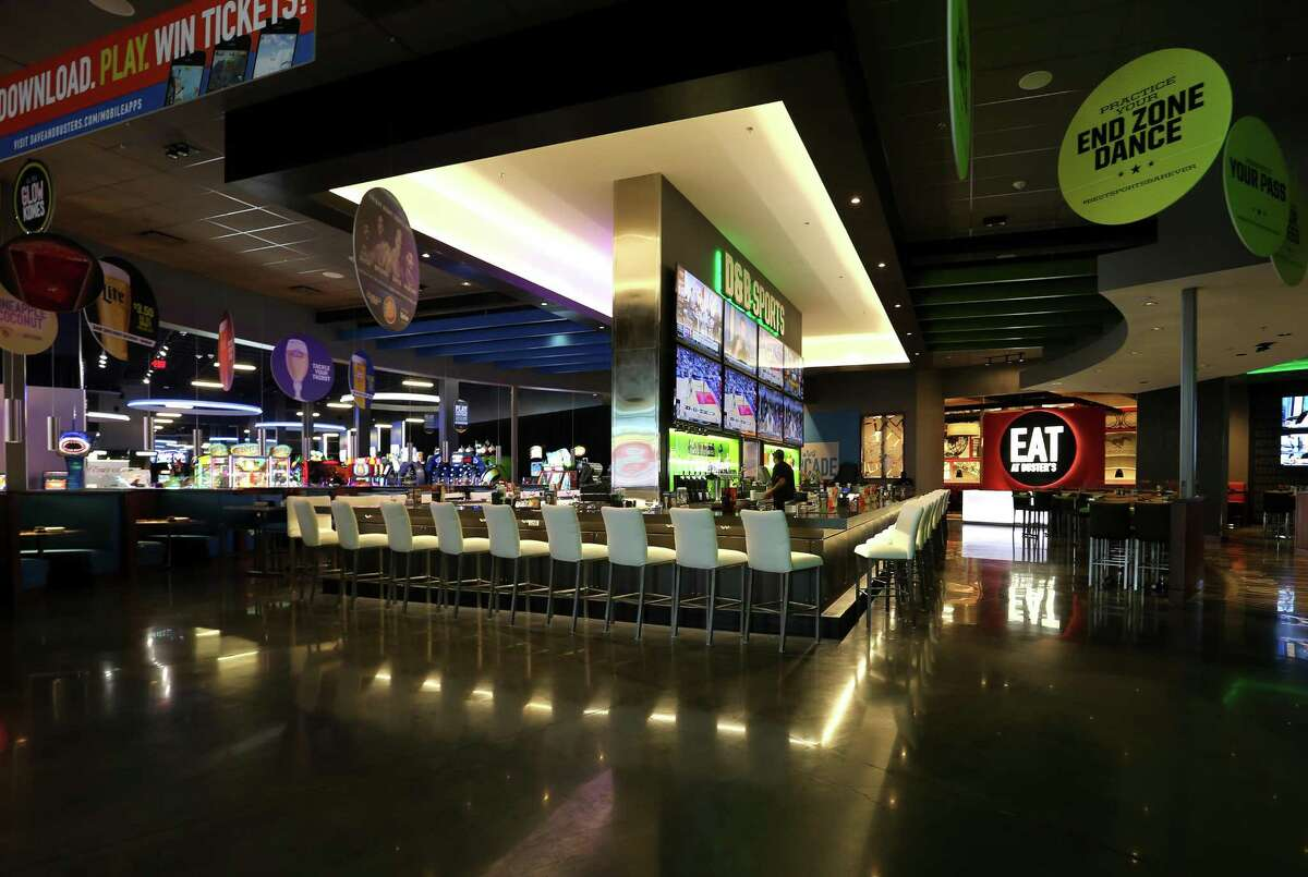 Dave and Buster's 40,000-plus-square-foot bar and restaurant features long of televisions as well as arcade games located in Baybrook Mall's multimillion-dollar outdoor expansion in Friendswood, Texas. The chain will open a restaurant in Milford in 2018.