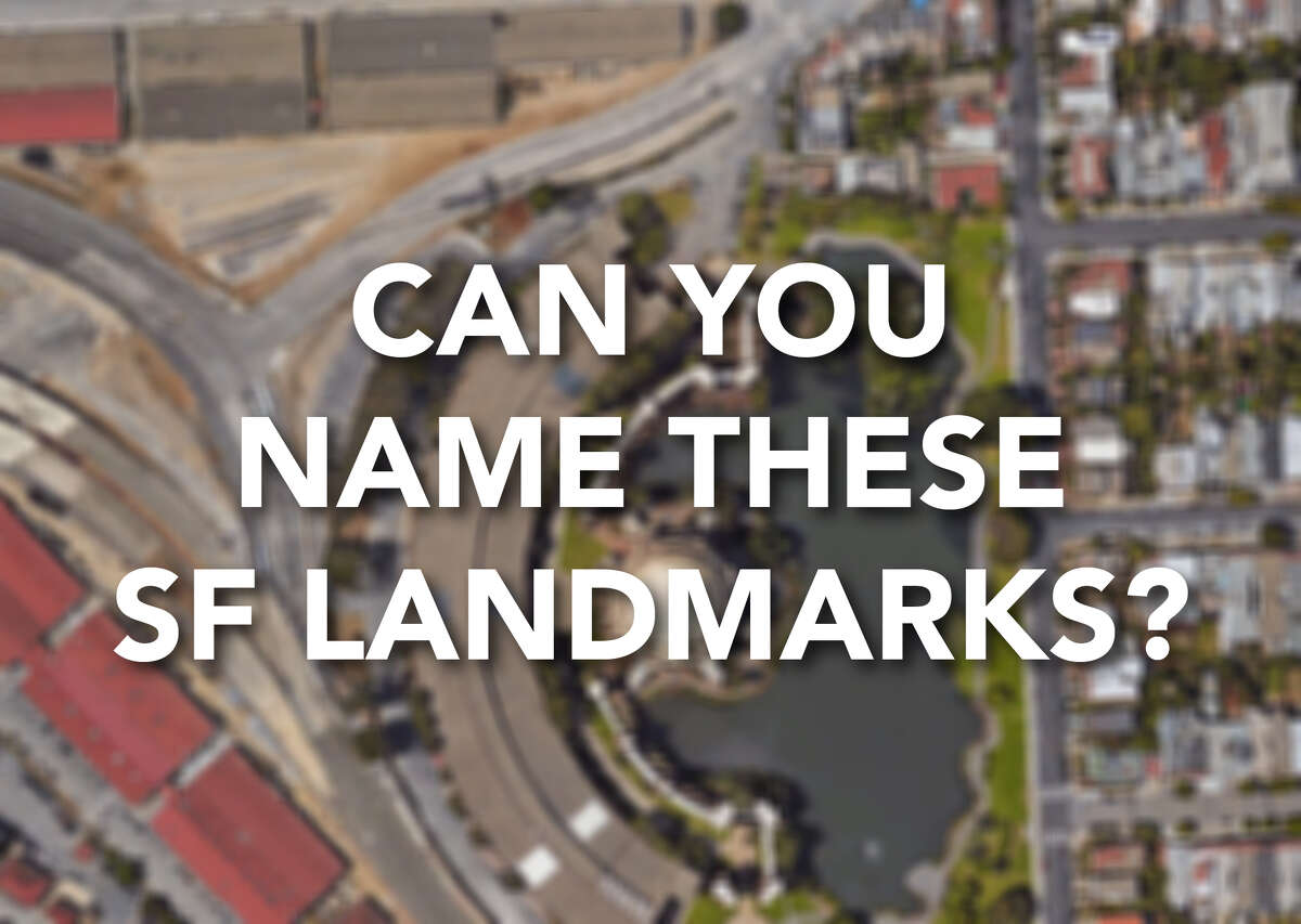 Keep clicking to see if you can identify these bird's-eye views of SF.