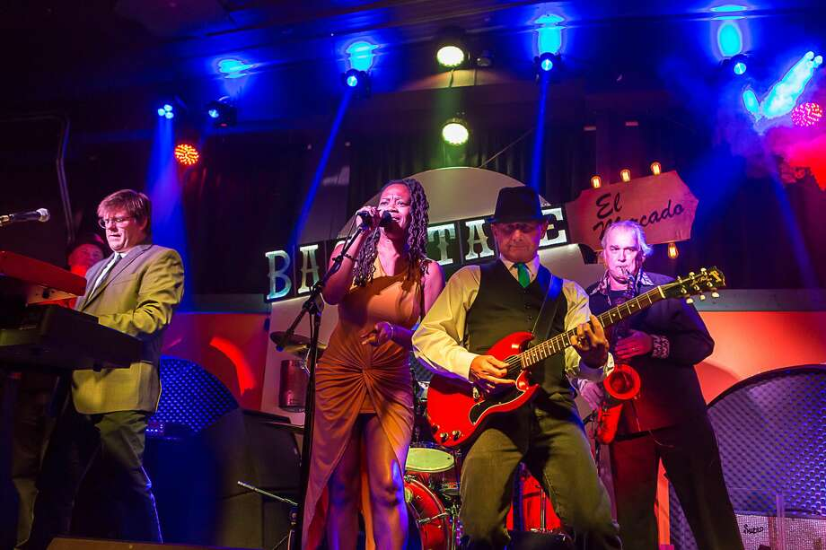 "Earlier this week, Rochelle Creone and her band, Rochelle and the Sidewinders, won an honorable mention from Blues Blast magazine for their debut album, ""Live in Austin."" Photo: Tom Coplen"