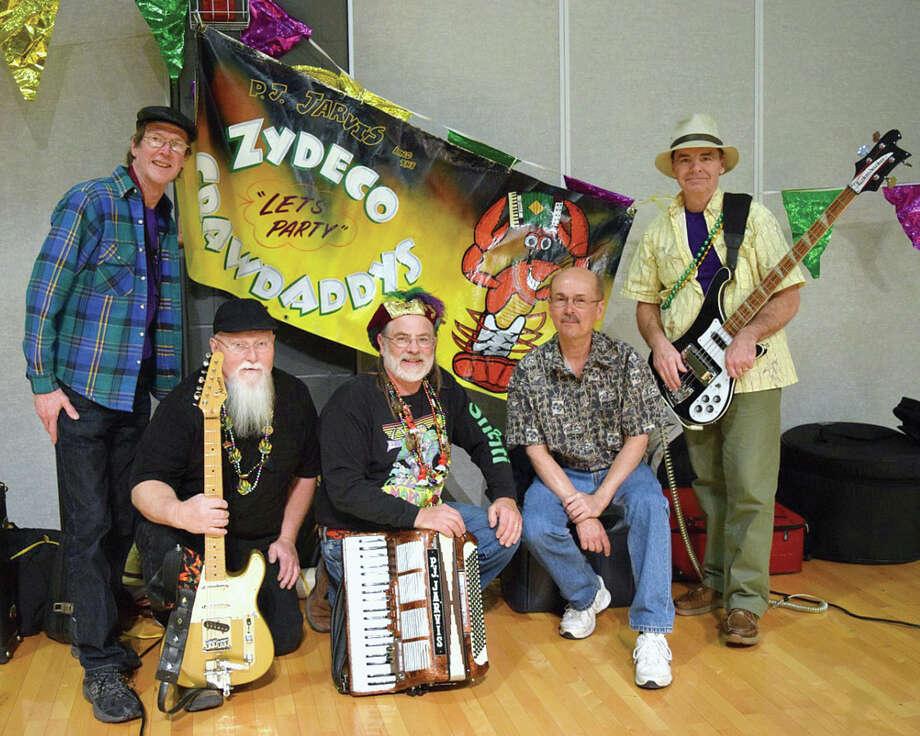 The Zydeco Crawdaddys will perform Friday night in Edwardsville's City Park. Photo: Zydeco Crawdaddys