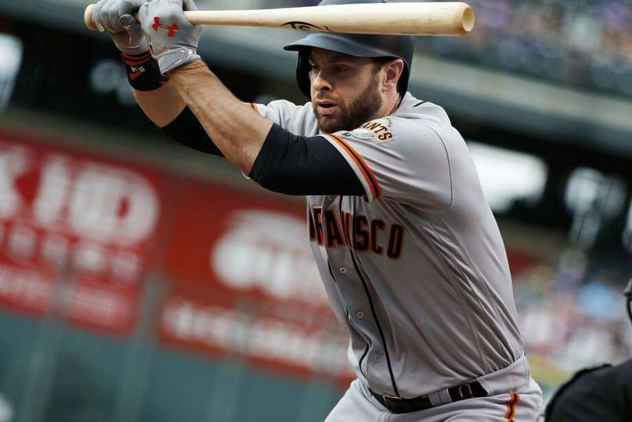 First baseman Brandon Belt is one of the Giants' top offensive players and could attract interest from contending teams as the trade deadline nears. Photo: David Zalubowski / David Zalubowski / Associated Press / Copyright 2017 The Associated Press. All rights reserved.